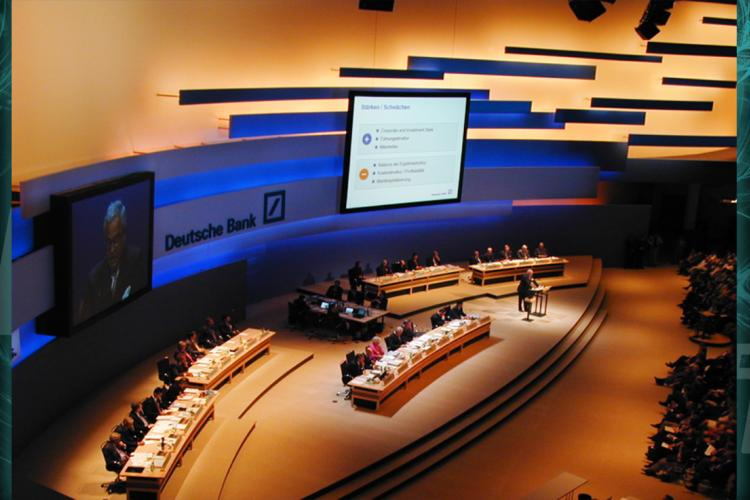 Deutsche Bank shareholders meeting