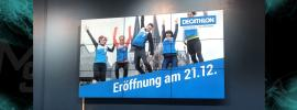 Decathlon Köln Videowall